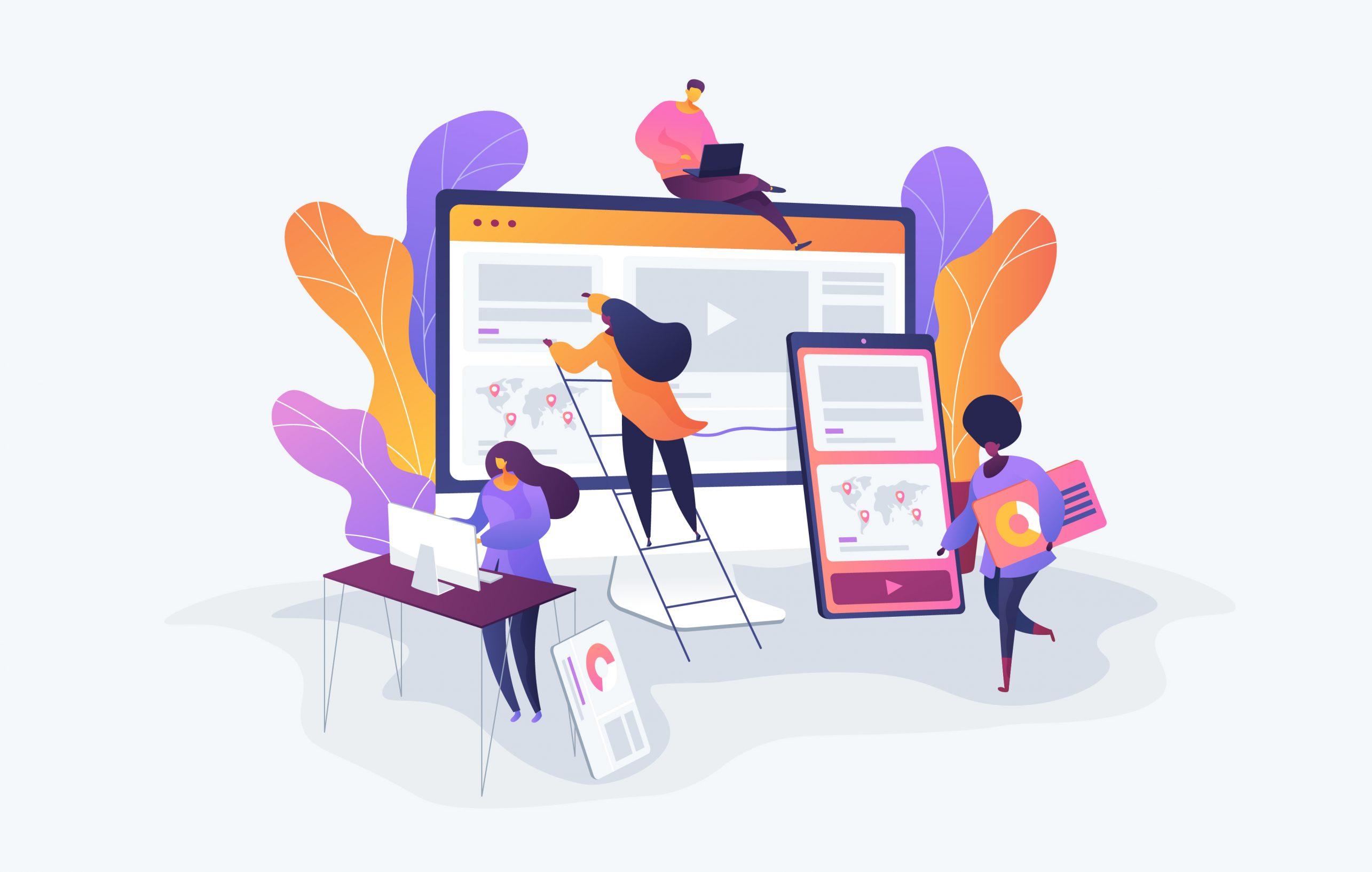 Les étapes de conception de votre site internet